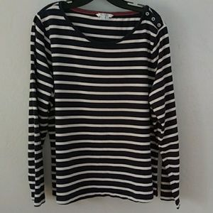 Boden, 100% cotton, boat necked pullover Sz. 16